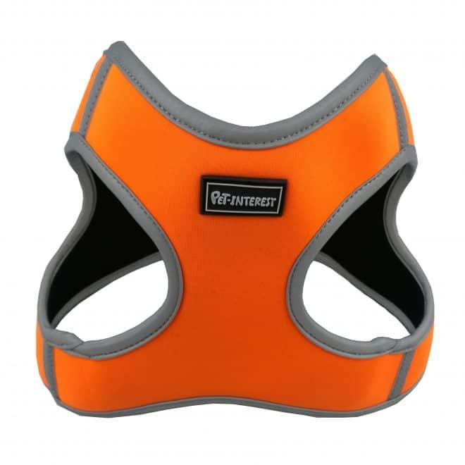 GOGET Soft Elastic Reflective Vest Orange